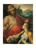 Noli Me Tangere Giclee Print by Bartholomeus Spranger