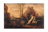 The Rape of Europa Giclee Print by Gustave Moreau