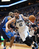 Dec 30, 2013, Dallas Mavericks vs Minnesota Timberwolves - Kevin Love Photographic Print