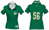 Juniors: South Florida Bulls - Collar Scholar Polo Shirt T-Shirt