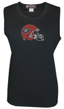Juniors: Tank Top - Georgia Bulldogs - Crystal Embellished Logo T-shirts