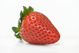 Strawberry on the White Background Photographic Print by Laetitia Julien