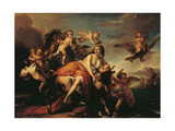 The Rape of Europa Giclee Print by Francesco Podesti
