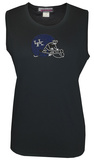 Juniors: Tank Top - Kentucky Wildcats - Crystal Embellished Logo Shirts