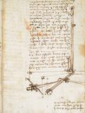 Codex on the Flight of Birds Giclee Print by  Leonardo da Vinci