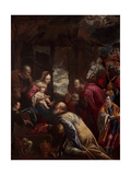 Adoration of the Magi Giclee Print by Giovanni Brunelli
