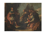 The Darius' Family at the Alexander's Feet Giclee Print by Jacopo Marieschi