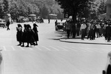 Some Serbian People Crossing the Street, Belgrade Photographic Print