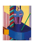 Blue Doll Giclee Print by Fortunato Depero