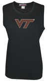 Juniors: Tank Top - Virginia Tech Hokies - Crystal Embellished Logo Shirt