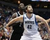 Nov 22, 2013, Brooklyn Nets vs Minnesota Timberwolves - Kevin Love Photo