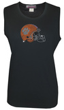 Juniors: Tank Top - Clemson Tigers - Crystal Embellished Logo T-shirts