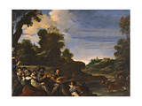 Landscape with Concert (Rustic Concert) Giclee Print by  il Guercino