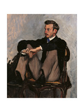Portrait of Renoir Giclee Print by Frederic Bazille