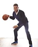 NBA All-Star Portraits 2014: Feb 13 - Blake Griffin Photographic Print