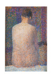 Pose from the Back Giclee Print by Georges Seurat