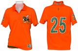 Miami Hurricanes - Collar Scholar Polo Shirt T-Shirt