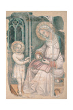Madonna and the Playing Child Giclée-Druck von Gherardo Starnina