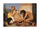Young Greeks Giclee Print