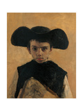 The Little Priest Giclee Print by Antonio Mancini