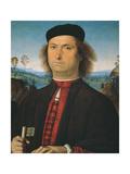 Portrait of Francesco delle Opere Giclee Print by Pietro Perugino
