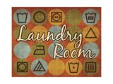 Laundry Symbols I Giclee Print by N. Harbick