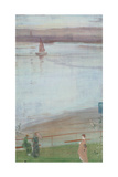 Variations in Violet and Green Giclee Print by James Abbott McNeill Whistler