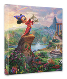 Fantasia Stretched Canvas Print by Thomas Kinkade