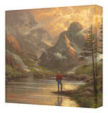 Almost Heaven Stretched Canvas Print by Thomas Kinkade