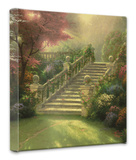 Stairway to Paradise Stretched Canvas Print by Thomas Kinkade