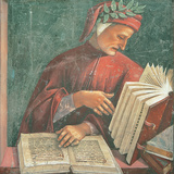 Dante Alighieri Giclée-Druck von Luca Signorelli