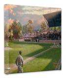 A Mile In His Shoes Stretched Canvas Print by Thomas Kinkade