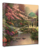 Pools of Serenity Stretched Canvas Print by Thomas Kinkade