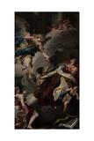 Ecstasy of St. Teresa Giclée-tryk af Sebastiano Ricci