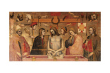 Pietà with the Symbols of the Passion Giclee Print by Maestro della Madonna di Strauss