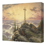 Sunrise Stretched Canvas Print by Thomas Kinkade
