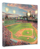 Fenway Park Stretched Canvas Print by Thomas Kinkade