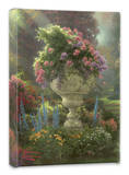 Garden of Hope Stretched Canvas Print by Thomas Kinkade