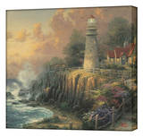Light of Peace Stretched Canvas Print by Thomas Kinkade