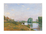 The Island of Saint Denis Giclee Print by Alfred Sisley