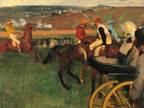 The Racecourse Giclee Print by Edgar Degas