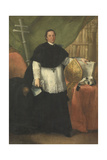 Portrait of Bishop Andrew Benedict Ganassoni Giclee Print by Alessandro Longhi