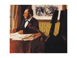 Louis Marie Pilet Giclee Print by Edgar Degas