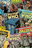 Doctor Who - Comic Montage Plakát