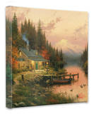 End of a Perfect Day 1 Stretched Canvas Print by Thomas Kinkade