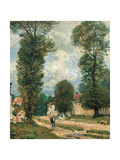 The Road to Versailles Giclee Print by Alfred Sisley