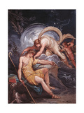 Diana and Endymion, The Sheep Giclee Print by Giani Felice