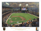 SF Giants, It's Our Time - White border Prints by Thomas Kinkade