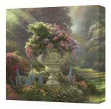 Garden of Promise Stretched Canvas Print by Thomas Kinkade