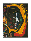 Composition with Face Giclee Print by André Masson